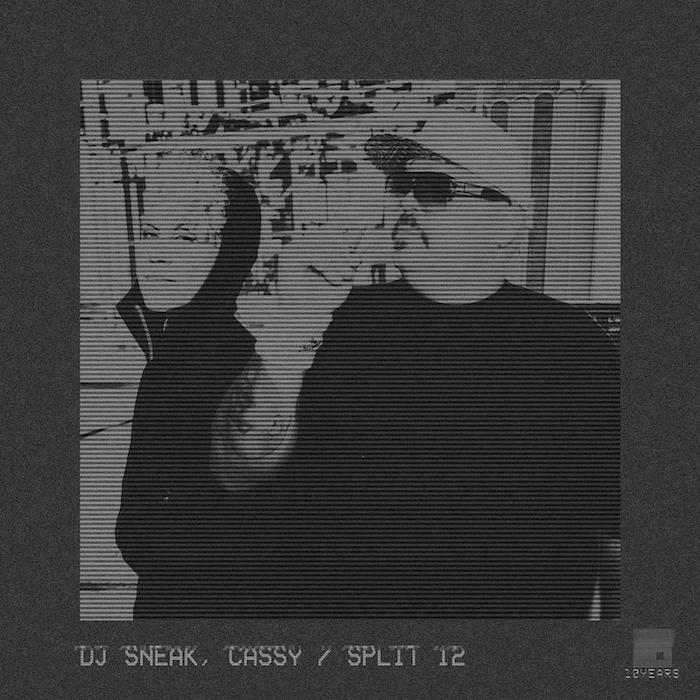 DJ Sneak, Cassy - Split 12 cover