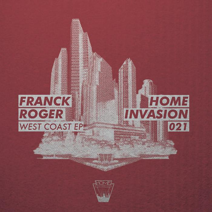 Franck Roger - West Coast EP cover