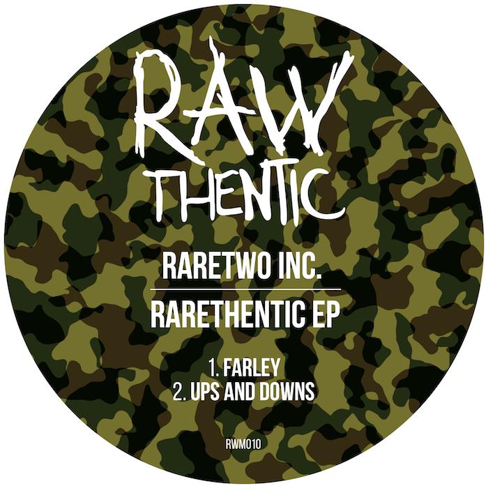 RareTwo Inc - Rarethentic EP cover