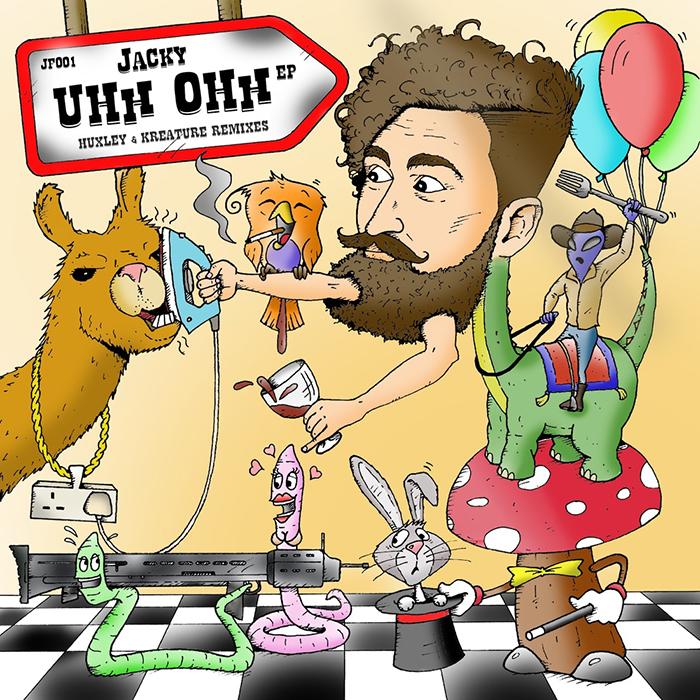 Jacky - Uhh Ohh EP cover