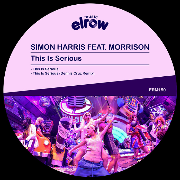 Simon Harris ft Morrison - This Is Serious EP cover