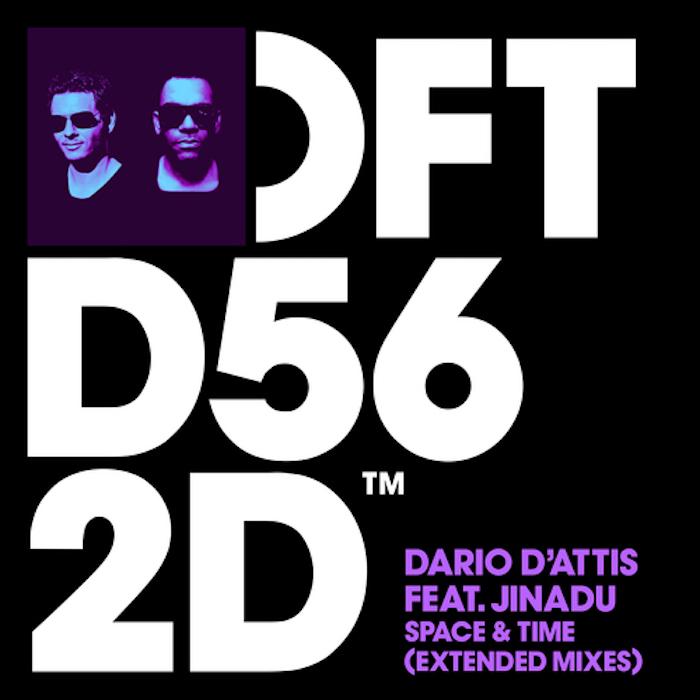 Dario D'Attis featuring Jinadu - Space & Time cover