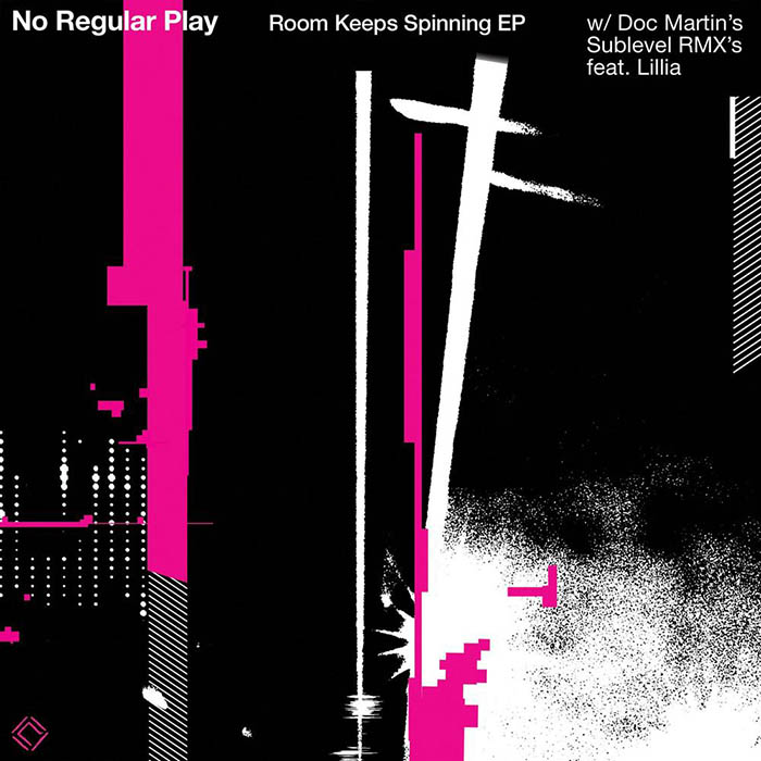 No Regular Play - Room Keeps Spinning EP cover