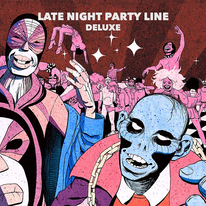 PBR Streetgang - Late Night Party Line (Deluxe) cover