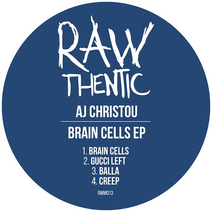 AJ Christou - Brain Cells EP cover