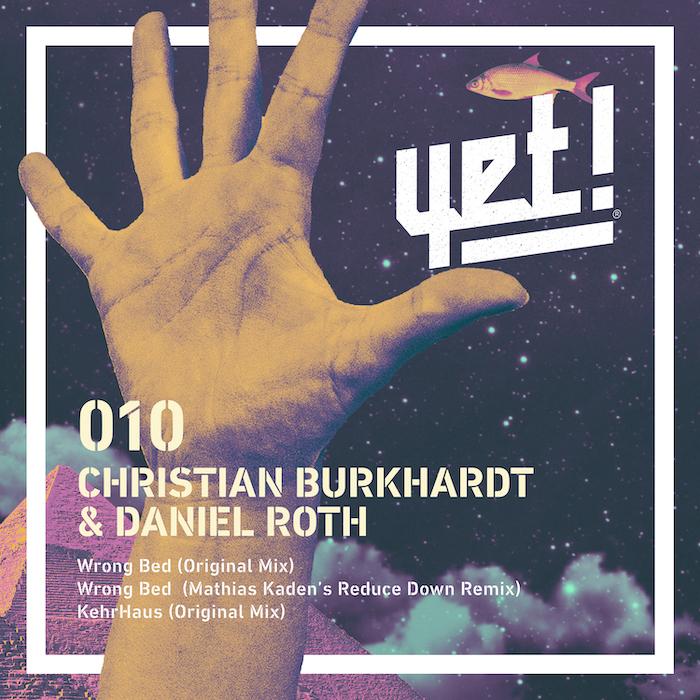 Christian Burkhardt & Daniel Roth - Wrong Bed EP (incl. Mathias Kaden Remix) cover