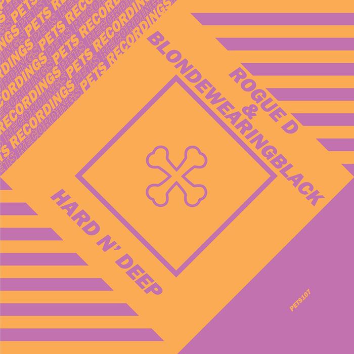 Rogue D & blondewearingblack - Hard N' Deep EP cover