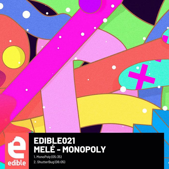 Melé - MonoPoly EP cover