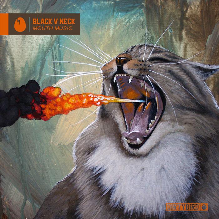 Black V Neck - Mouth Music cover