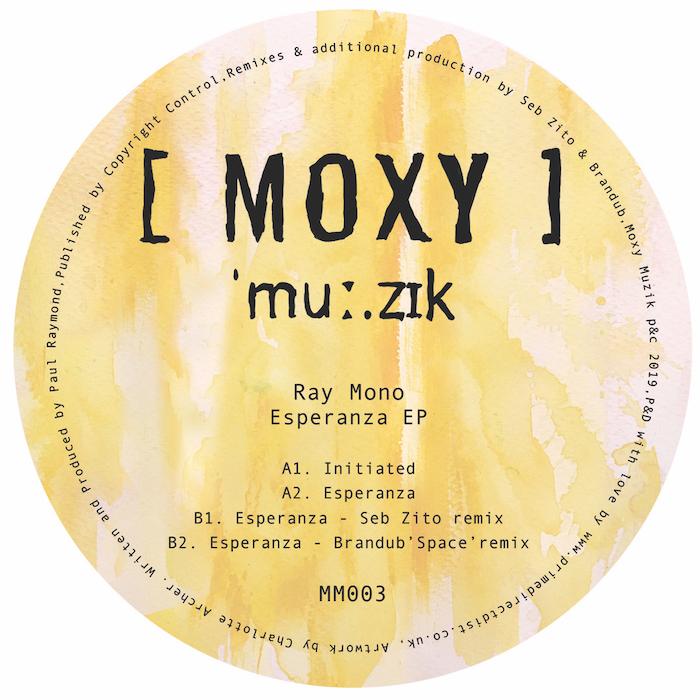 Ray Mono - Esperanza EP (incl Seb Zito Remix) cover