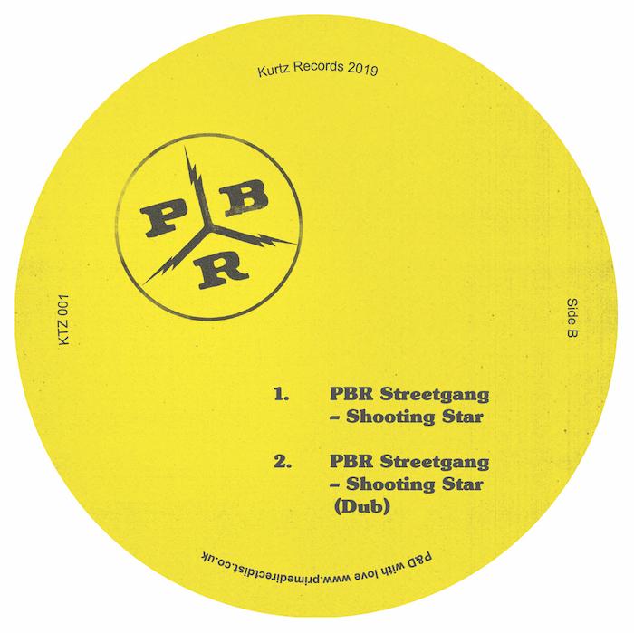 PBR Streetgang - Big Wig EP (incl. Donald Dust Remix) cover