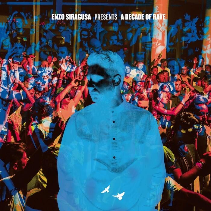Enzo Siragusa presents: A Decade Of Rave Volume 2 cover