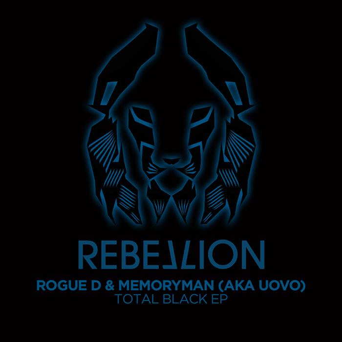 Rogue D & Memoryman (AKA Uovo) - Total Black cover