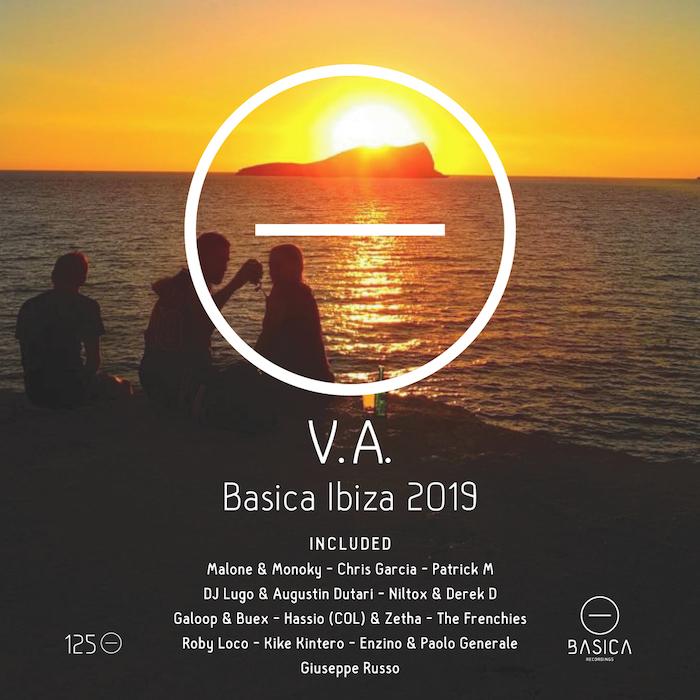 V.A. - Basica Ibiza 2019 cover