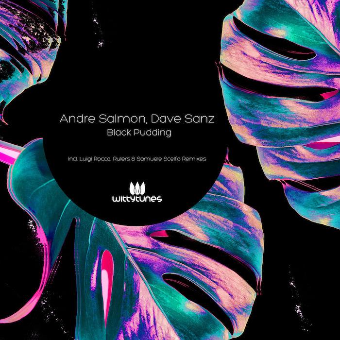 Andre Salmon, Dave Sanz - Black Pudding (incl. Luigi Rocca, Samuele Scelfo & Rulers Remix) cover