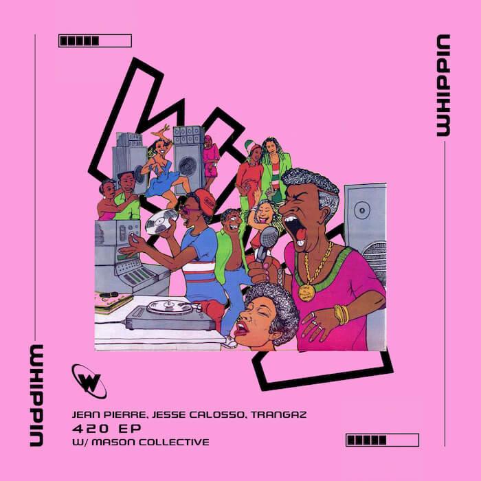 Jean Pierre, Jesse Calosso, Trangaz - 420 EP (incl. MASON Collective Remix) cover
