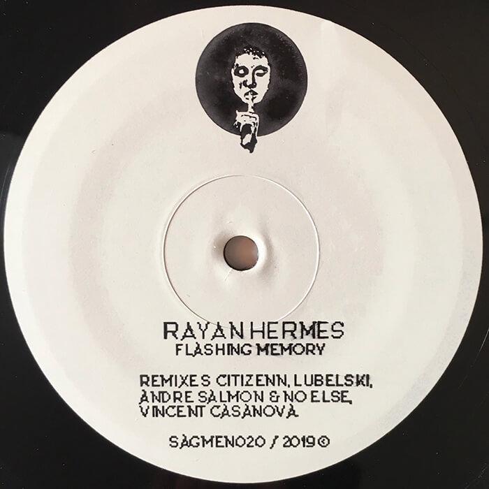 Rayan Hermes - Flashing Memory EP cover