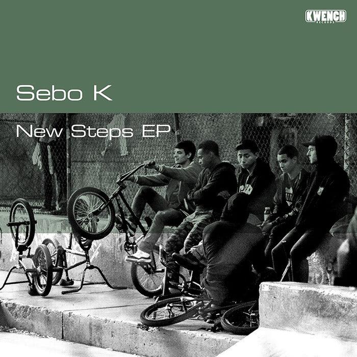 Sebo K - New Steps EP cover