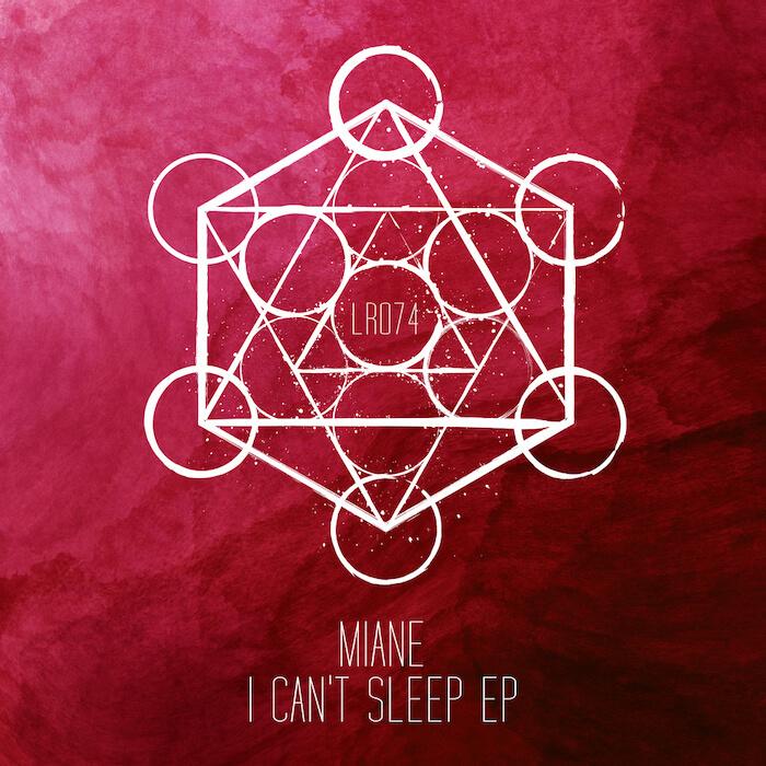 Miane - I Can't Sleep EP cover