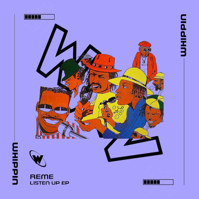 REME - Listen Up EP cover