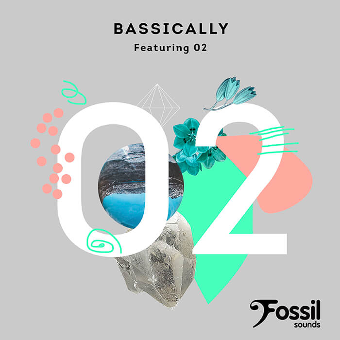 Bassically - Featuring 02 EP cover