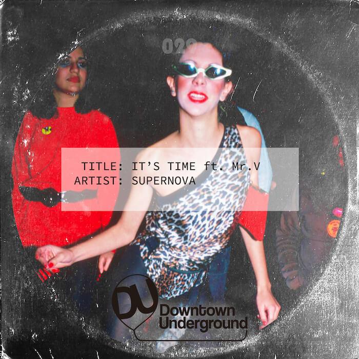 Supernova - It's Time cover