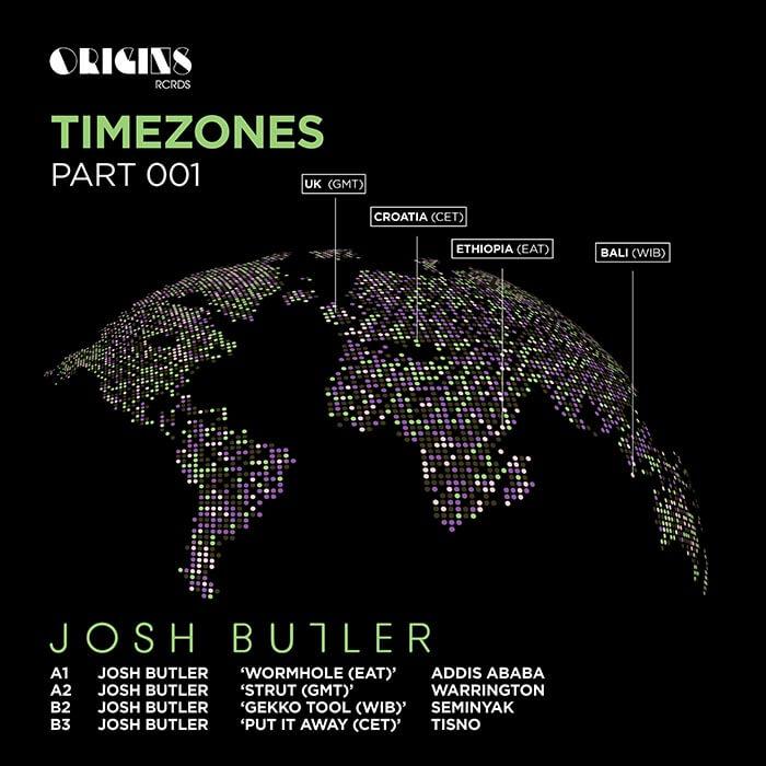 Josh Butler - Timezones Part 001 EP cover