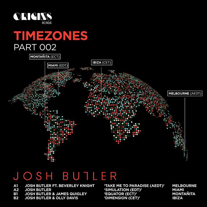 Josh Butler - Timezones Part 002 EP cover