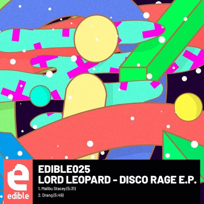 Lord Leopard - Disco Rage EP cover