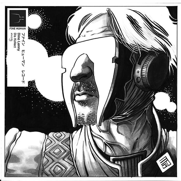 Dino Lenny - Dis Kollect LP cover