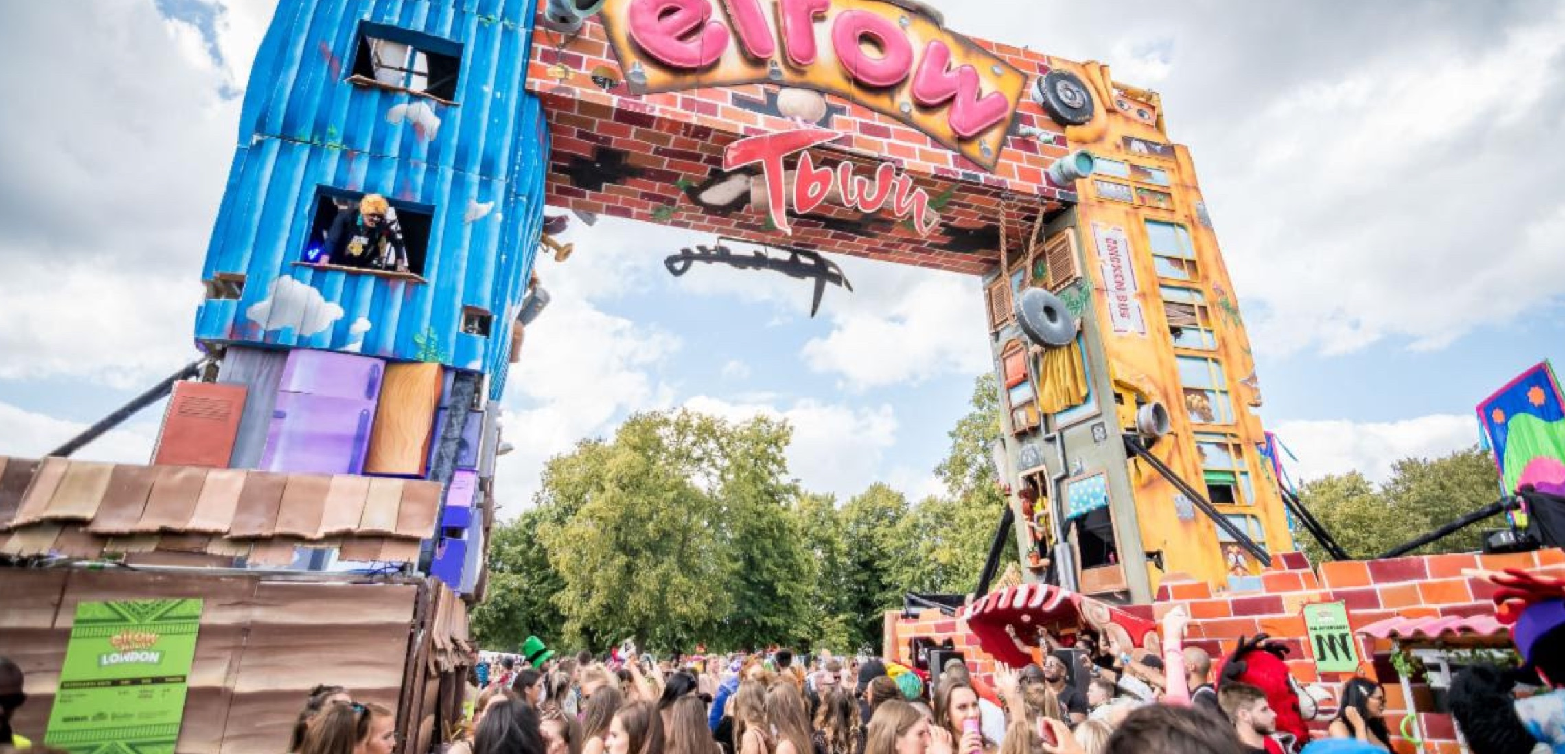 Elrow Town announces return to the UK at Trent Park, London