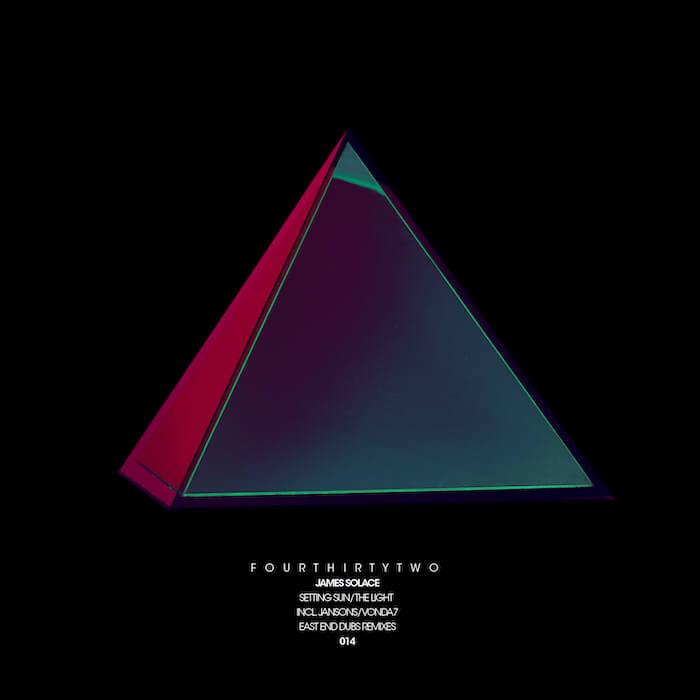 James Solace - Setting Sun & The Light (incl. East End Dubs, Jansons & VONDA7 Remixes) cover