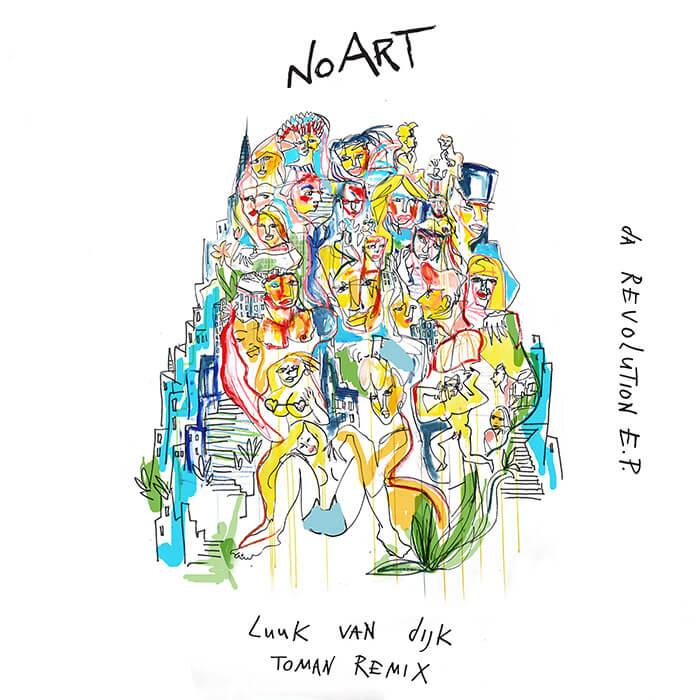 Luuk van Dijk - Da Revolution EP cover