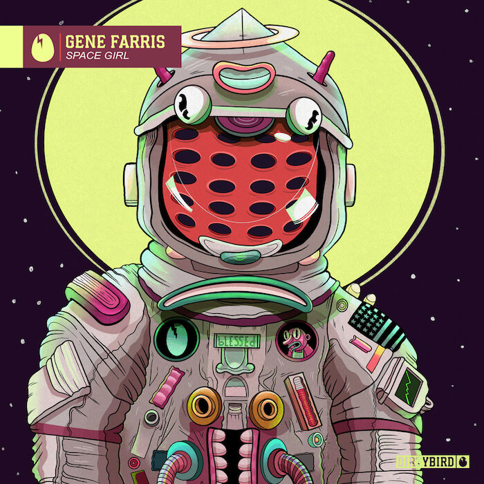 Gene Farris - Space Girl cover