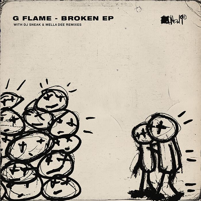 G Flame - Broken EP cover