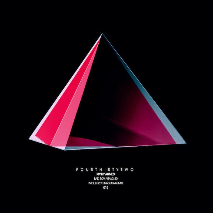 Richy Ahmed - Bad Boy / Italo 80 (inc. Enzo Siragusa remix) cover