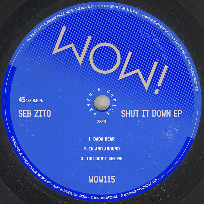 Seb Zito - Shut It Down EP cover