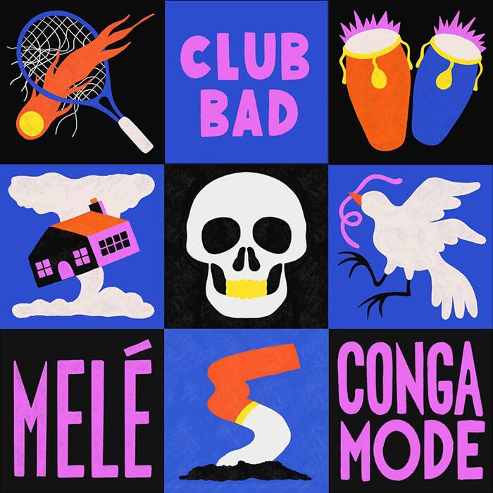 Melé - Conga Mode EP cover