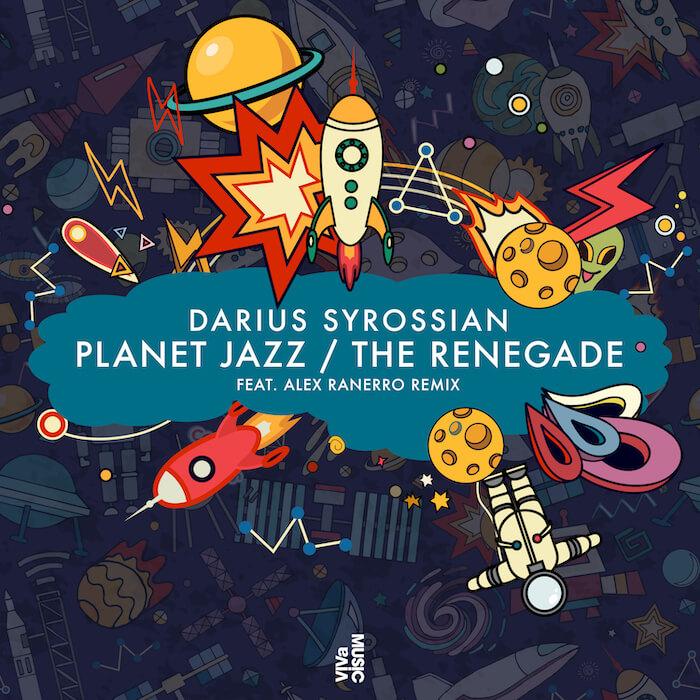 Darius Syrossian - Planet Jazz / The Renegade (incl. Alex Ranerro remix) cover