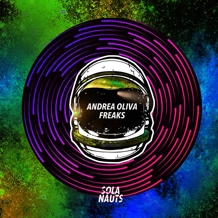 Andrea Oliva - Freaks EP cover