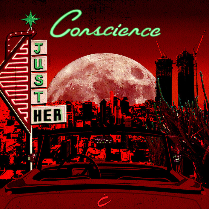 Just Her - Conscience (inc The Revenge Remix) cover