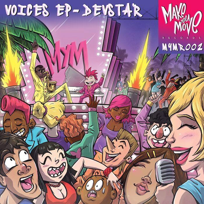 Devstar - Voices EP (incl. Timmy P & Jack Swift Remixes) cover