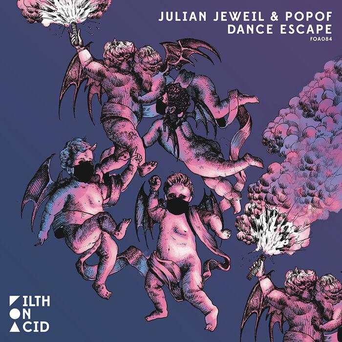 Julian Jeweil & POPOF - Dance Escape EP cover