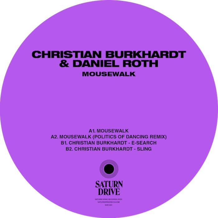 Christian Burkhardt & Daniel Roth - Mousewalk EP cover