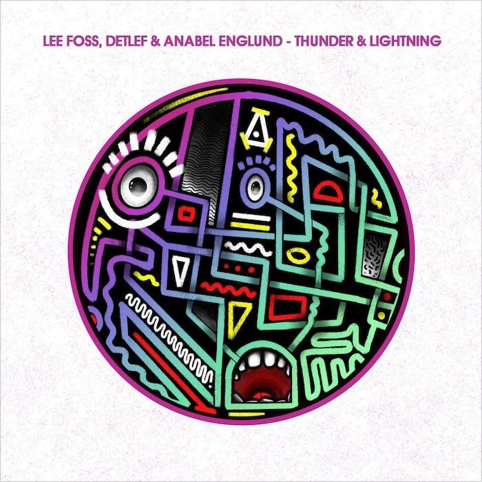 Lee Foss, Detlef & Anabel Englund - Thunder & Lightning cover
