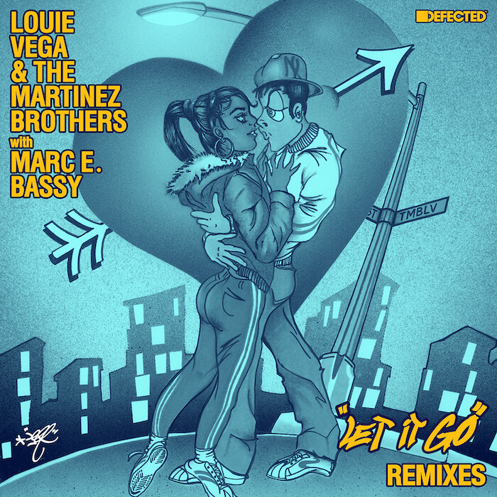 Louie Vega & The Martinez Brothers With Marc E. Bassy - Let It Go (Remixes) cover