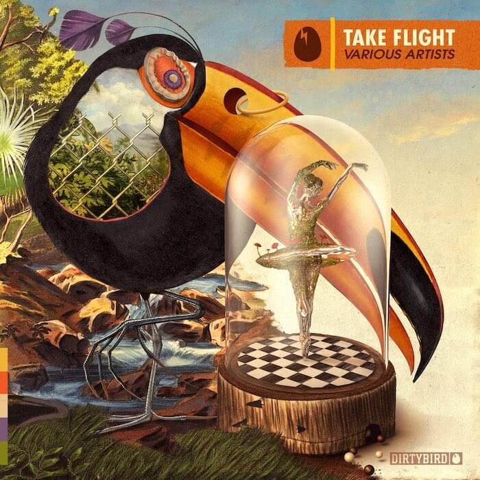 Dirtybird - Take Flight cover