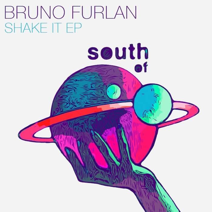 Bruno Furlan - Shake It EP cover