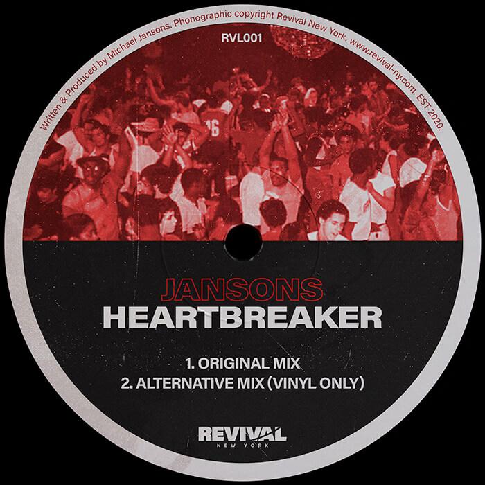Jansons - Heartbreaker EP cover