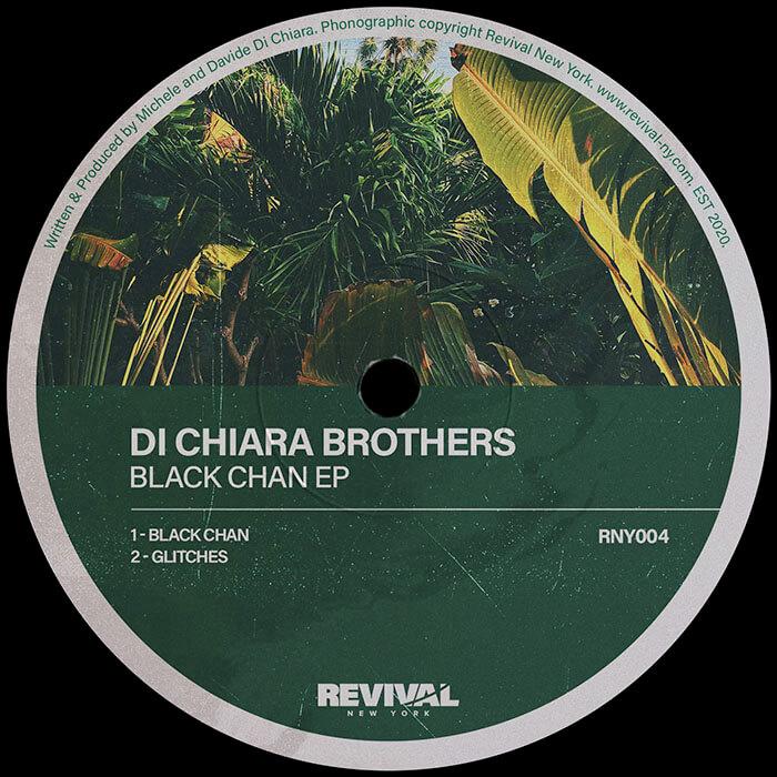 Di Chiara Brothers - Black Chan EP cover